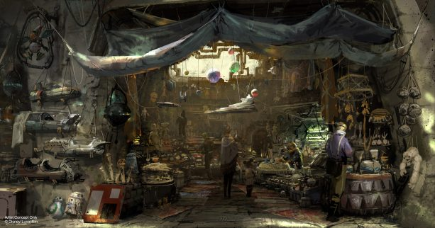 Passholder Preview for Star Wars: Galaxy's Edge