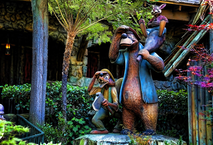 Disneyland Land