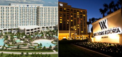 Official Walt Disney Resort Hotels