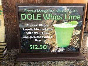 Dole Whip Lime Margarita