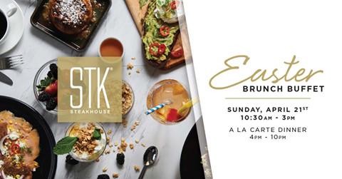 STK Easter Brunch Buffet