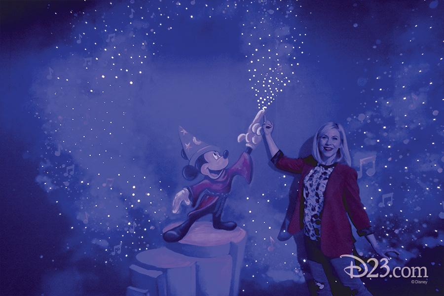 Sorcerer Mickey