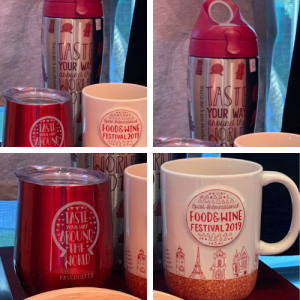 2019 Epcot Food and Wine Festival Merchandise