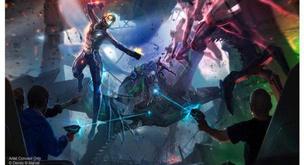 Avengers Disney Parks