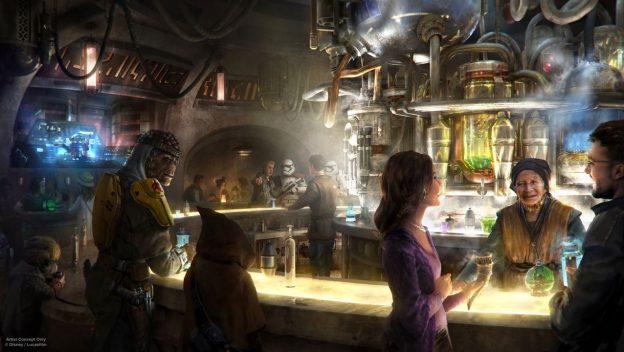 Menus at Star Wars: Galaxy's Edge