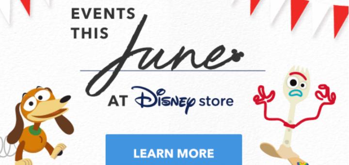 Disney Store June