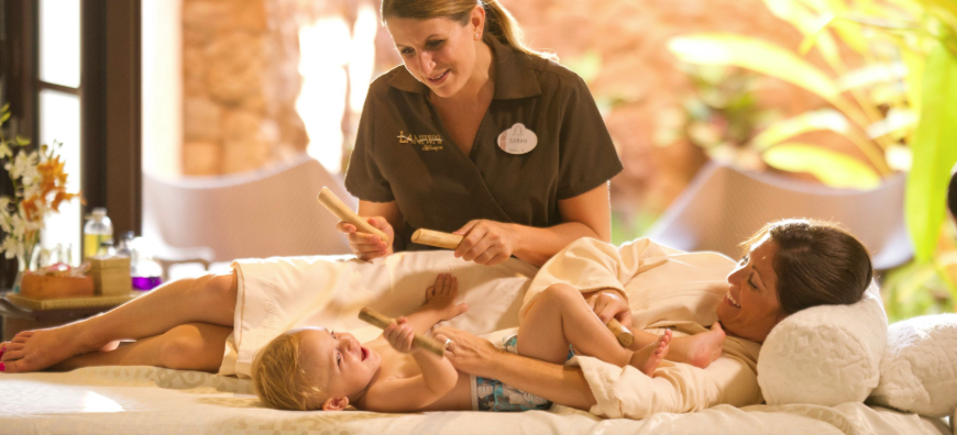 kids spa services Aulani