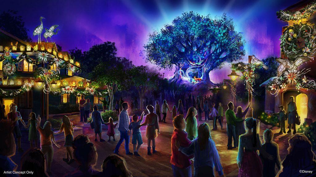 holiday season at Walt Disney World