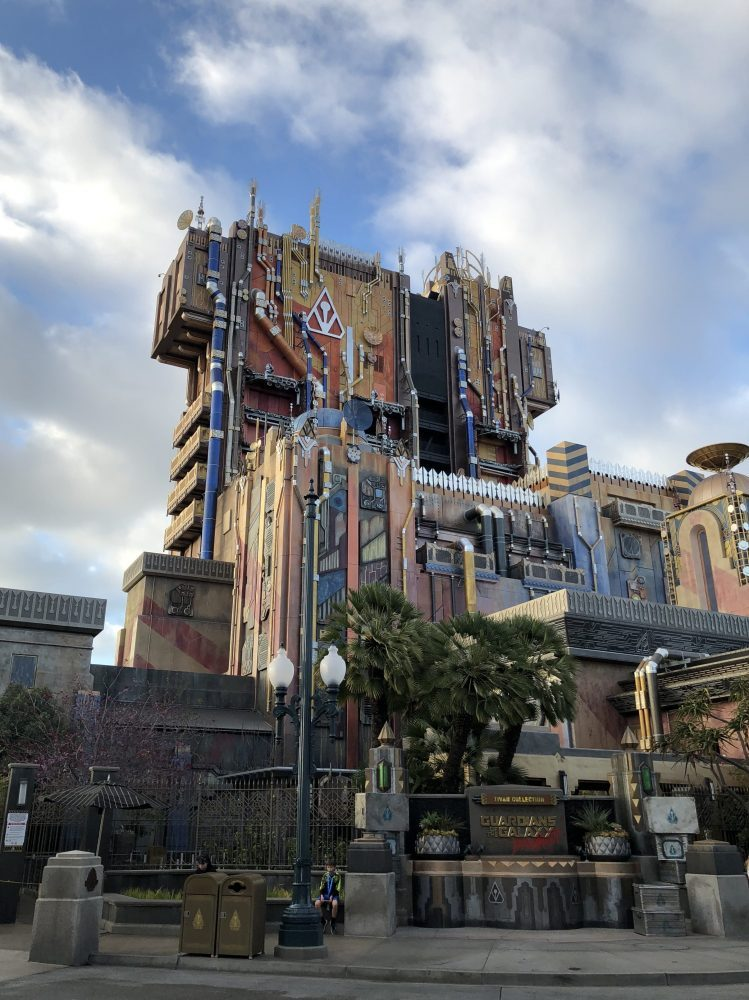 Disneyland Marvel Expansion