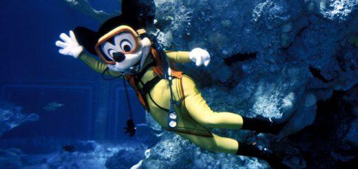 Mickey Under Water
