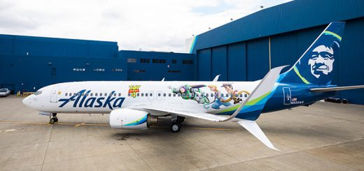 Toy Story 4 Themed Plane