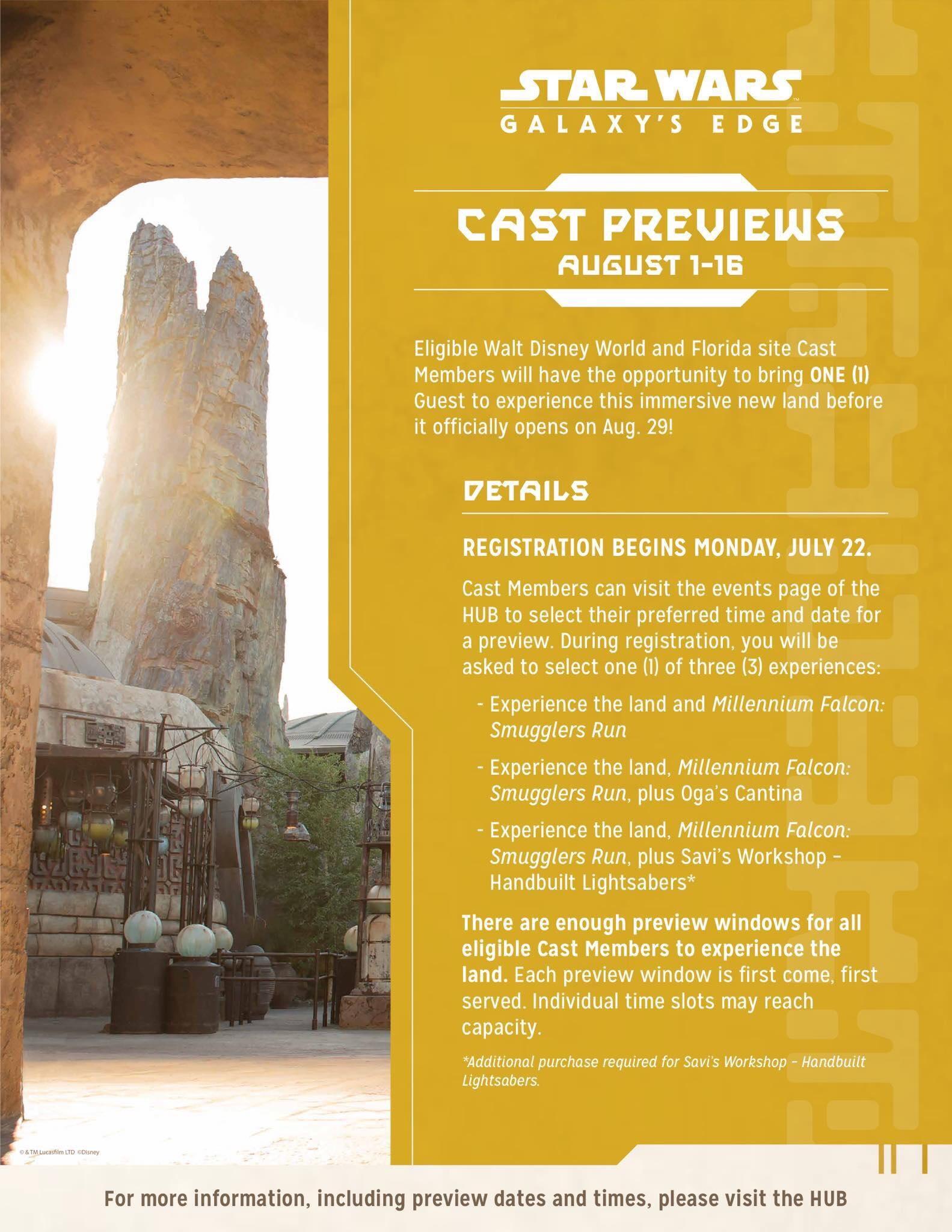 cast member preview