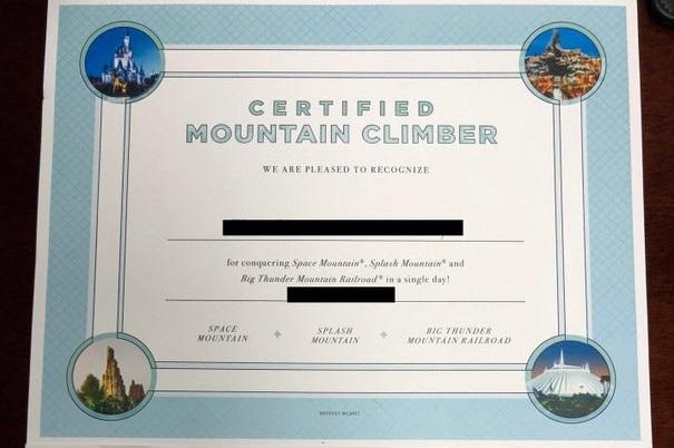 Certified Mountain Climber