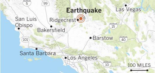 Disneyland earthquake