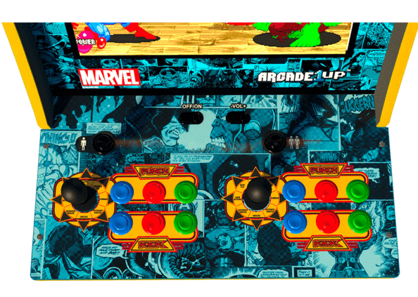 Arcade1Up: Classic Marvel & Star Wars Video Games! - MickeyBlog com