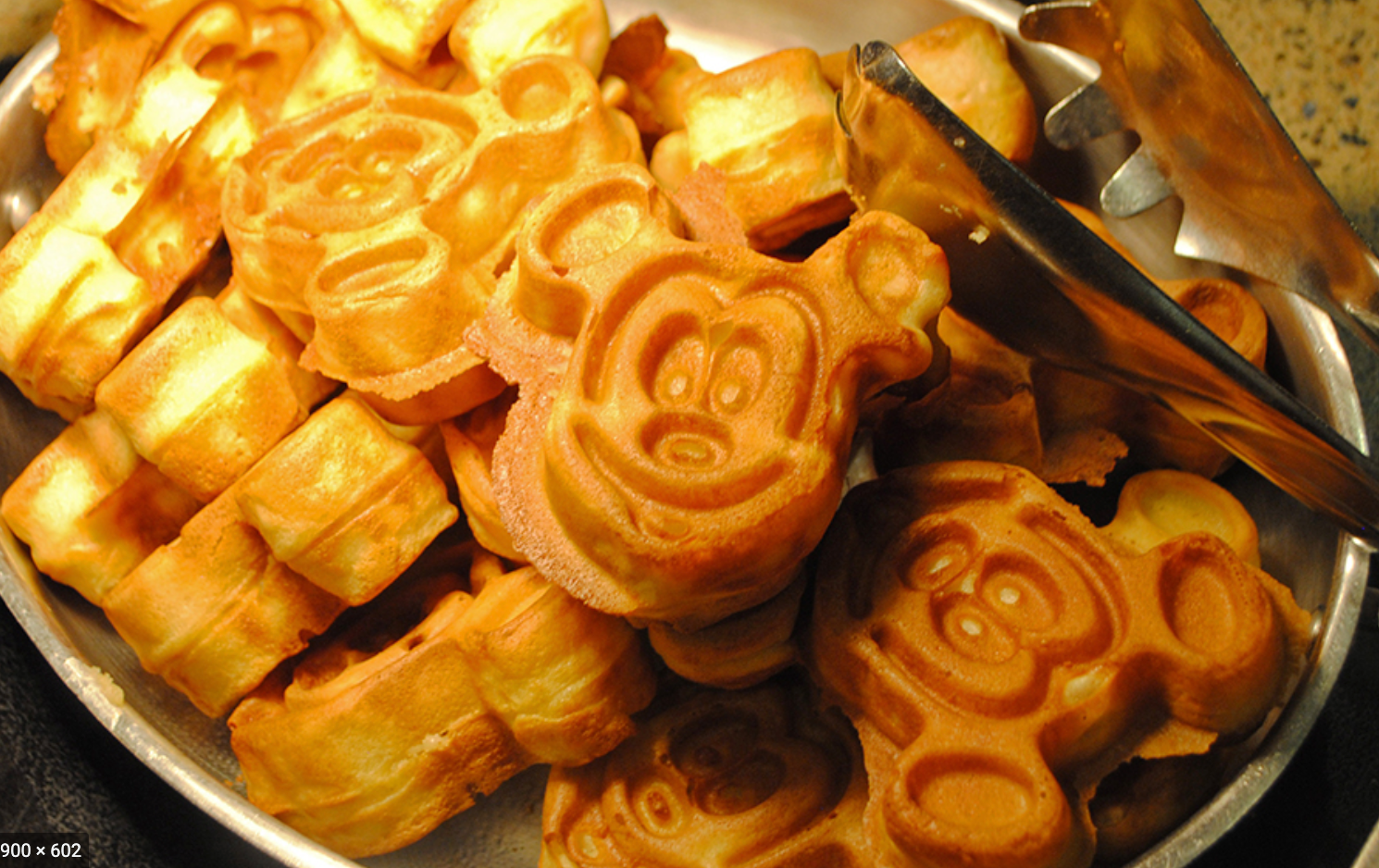waffles at Walt Disney World