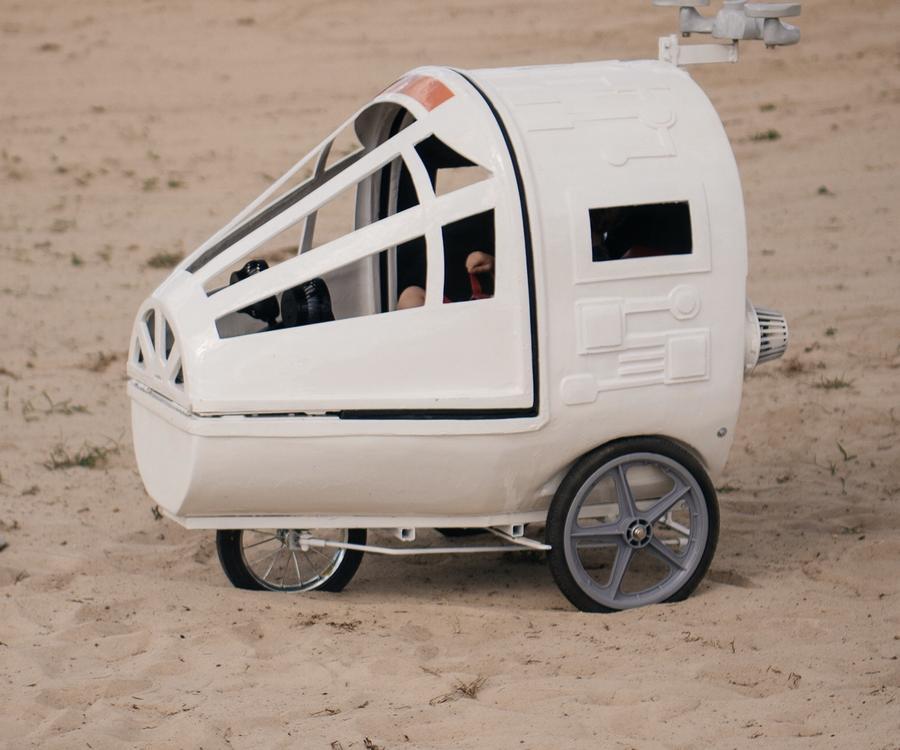 spaceship stroller
