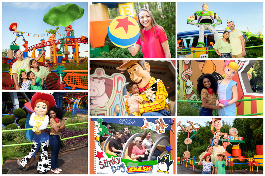 Toy Story PhotoPass Locations