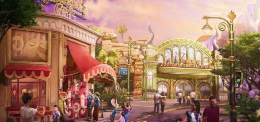 Zootopia Land at Shanghai Disney
