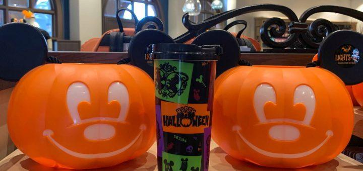 Halloween Resort Refillable Mugs