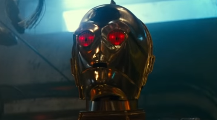 Star Wars The Rise Of Skywalker What S With C3po S Eyes