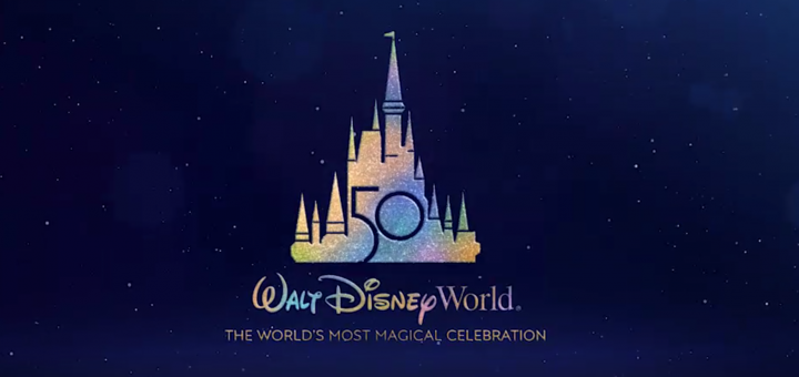 50th Anniversary Walt Disney World logo