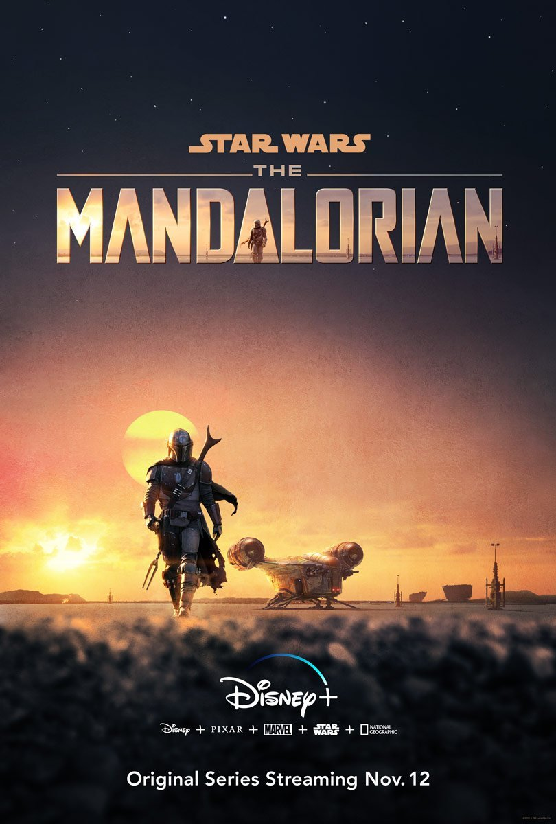 The Mandalorian, Star Wars, Poster
