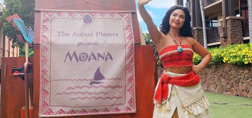 Aulani Players Presents Moana