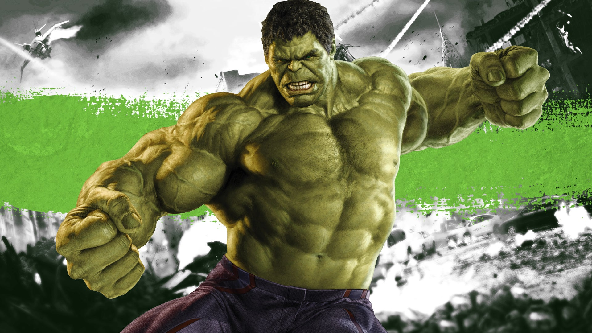 This is an image of Obsessed Images of Hulk
