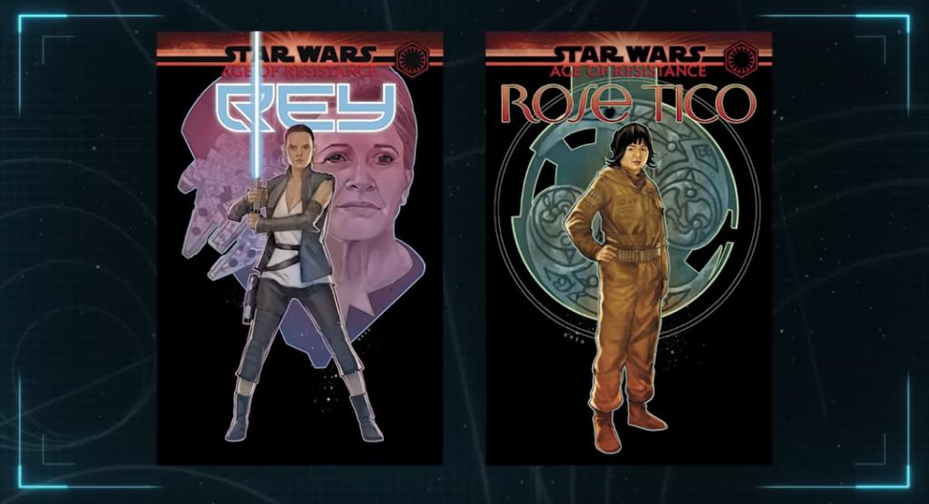 Rose, Rey, Star Wars