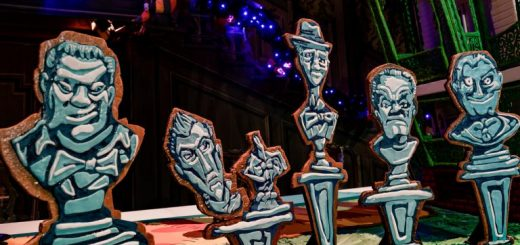 Haunted Mansion Gingerbread House