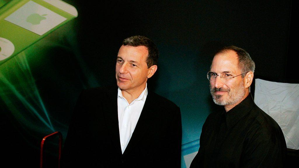 Bob Iger, Iger, Steve Jobs