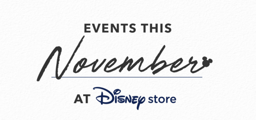 Disney Store November Events
