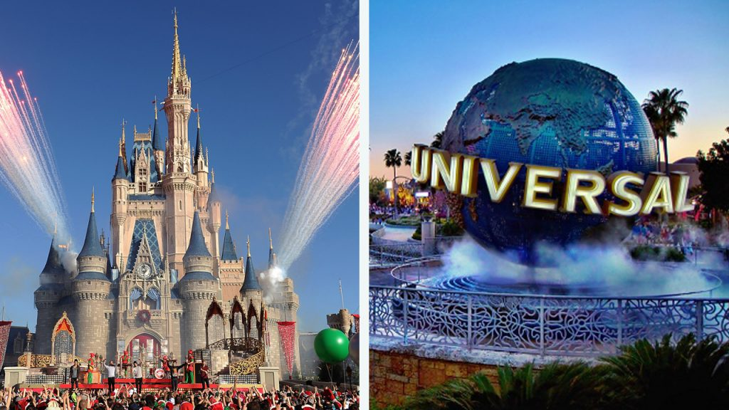 Universal Disney essential workers