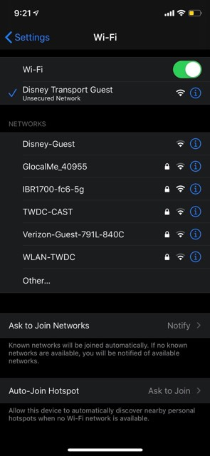 Disney Bus WiFi