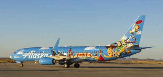 Pixar Pier Themed Plane