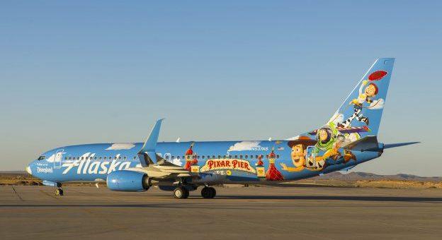 Pixar Pier Themed Plane