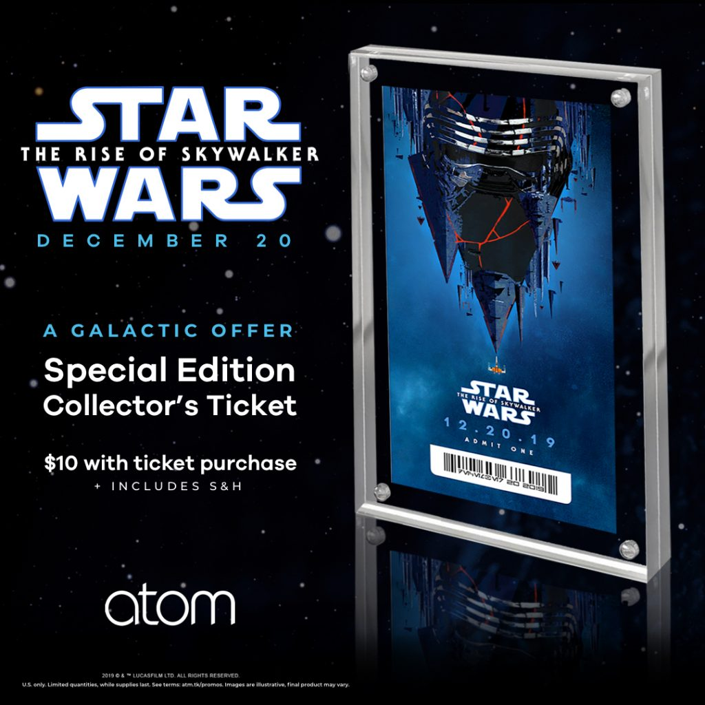 The Rise Of Skywalker Outsells Avengers Endgame In First Hour Pre Sales At Atom Tickets Mickeyblog Com