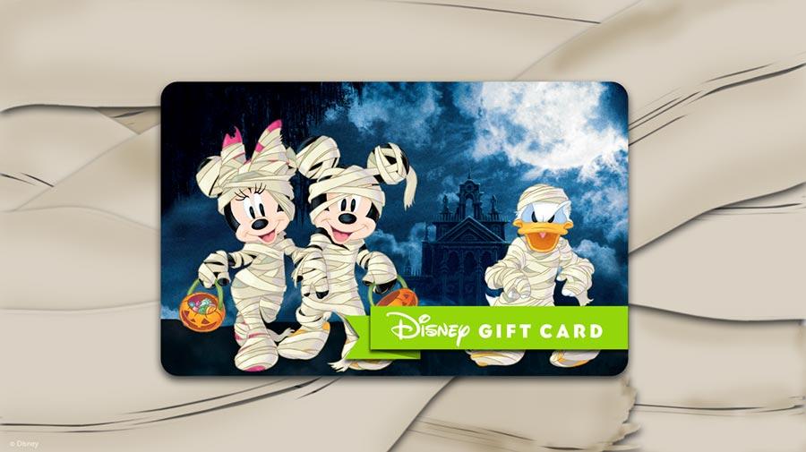 Spooky Disney Gift Card