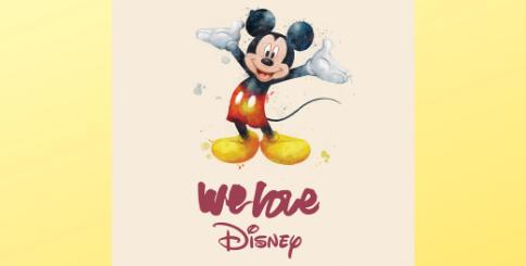 We Love Disney Album Cover