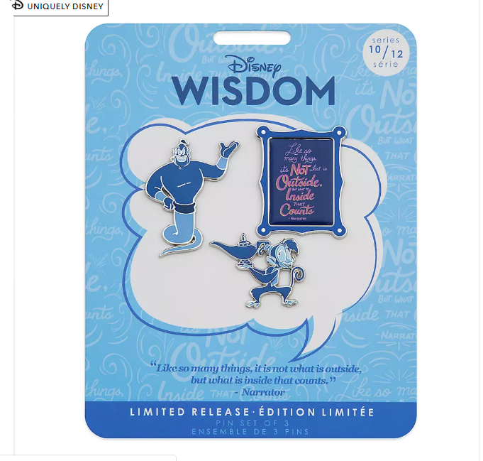 Wisdom Collection Pin Set