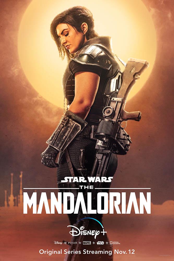 Gina Carano, The Mandalorian, Star Wars, Cara Dune