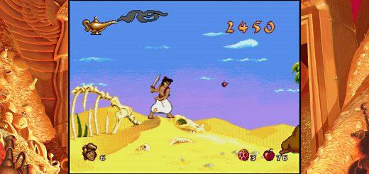 aladdin lion king video games