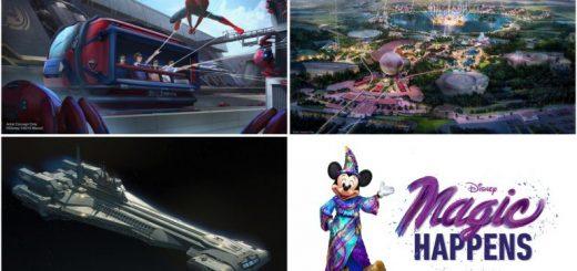 Disney Parks Experiences Announced