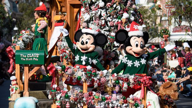 Holiday Season at Disneyland