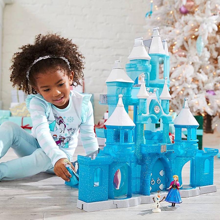 Frozen toy castle