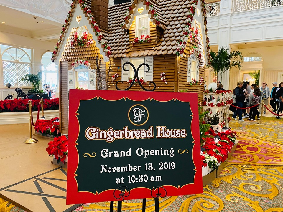 Grand Floridian 21st gingerbread house