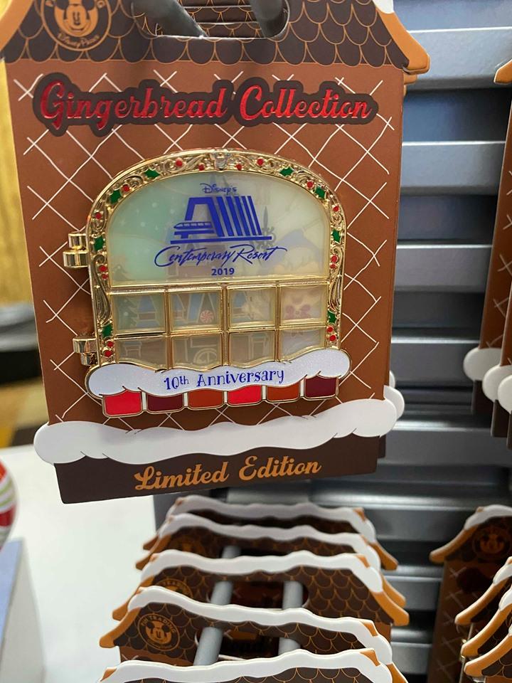 Contemporary Resort Gingerbread