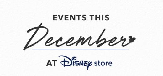 Disney Store December Events