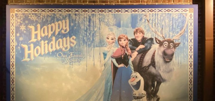 Frozen Photo Wall